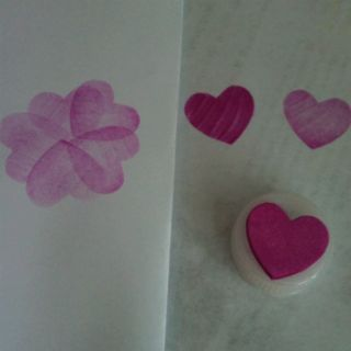 Bottle cap and foam sticker stamps