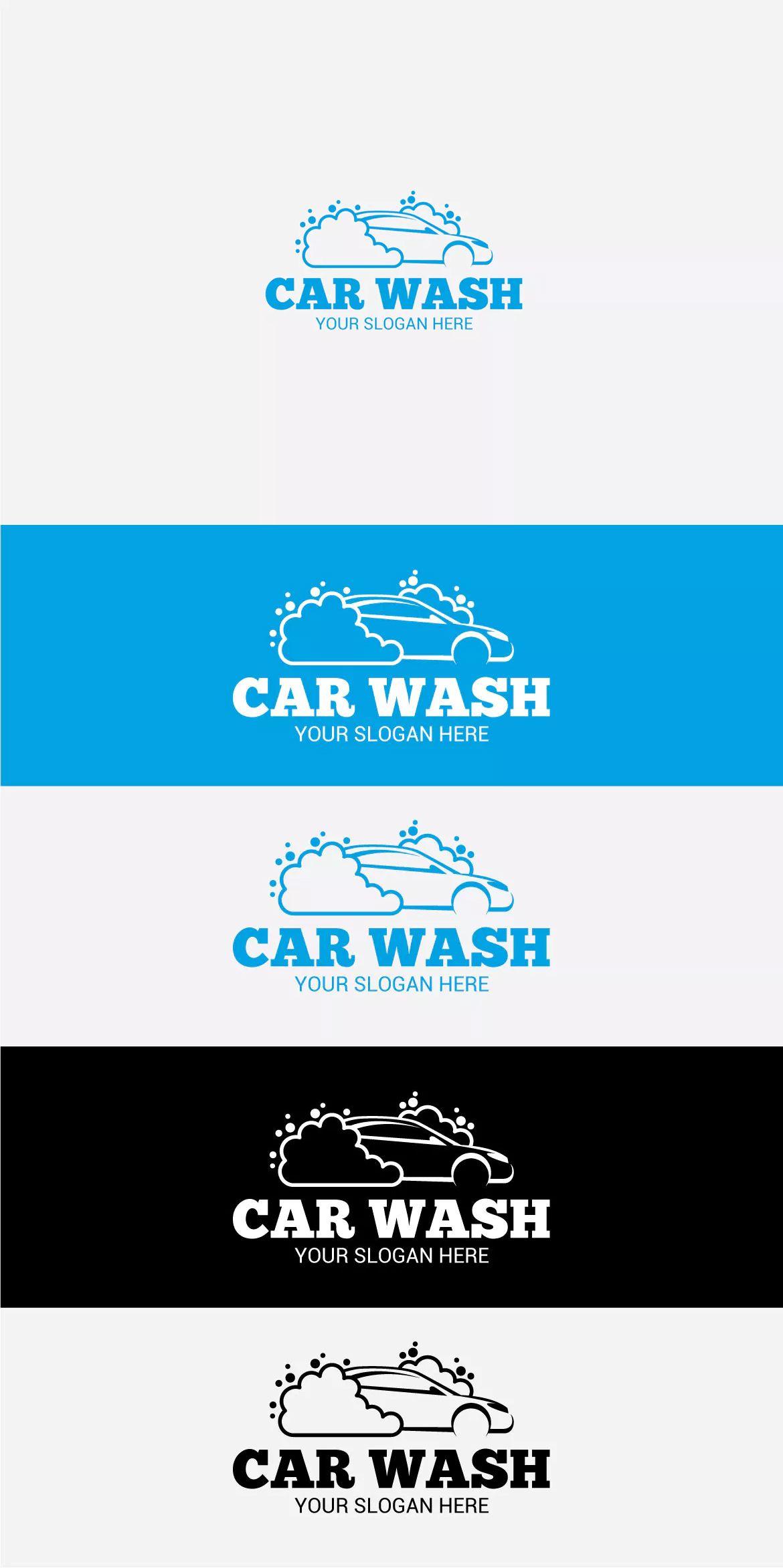 Car Wash Logo Template Ai Eps Logo Templates Car Wash Logo