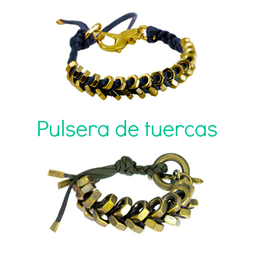 Tutorial pulsera tuercas - Handbox | Craft Lovers