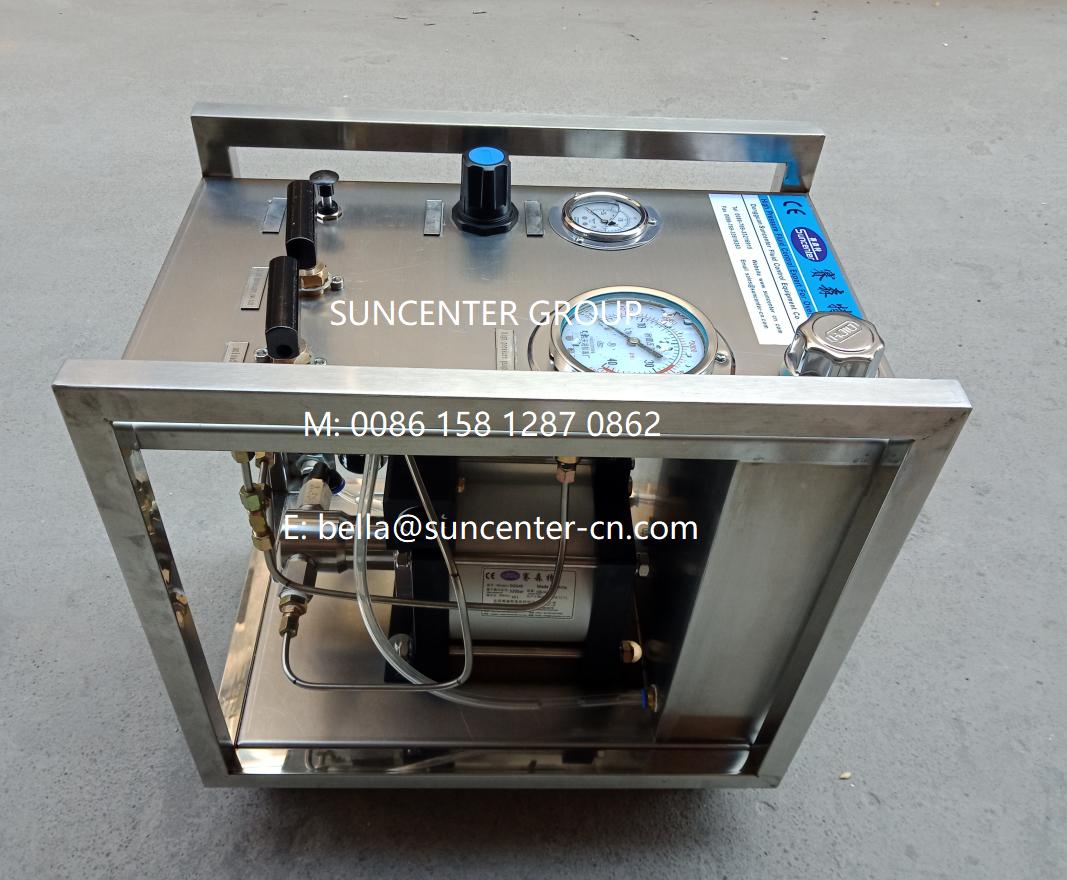 0 6400bar Pressure Test Bench In 2020 Vacuum Pump Safety Valve Valve