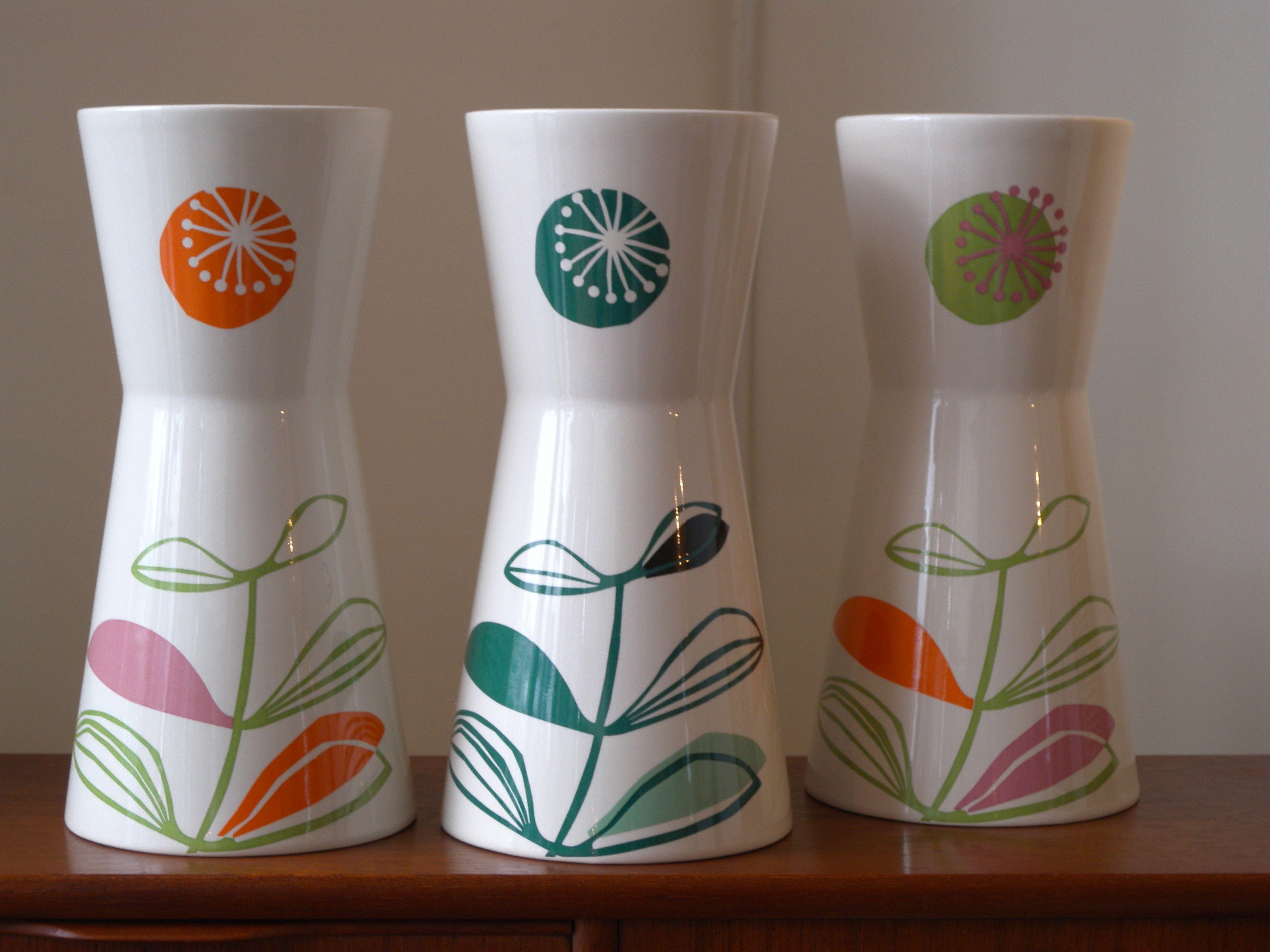 PETIOLE vases by Malene Helbak, Denmark
