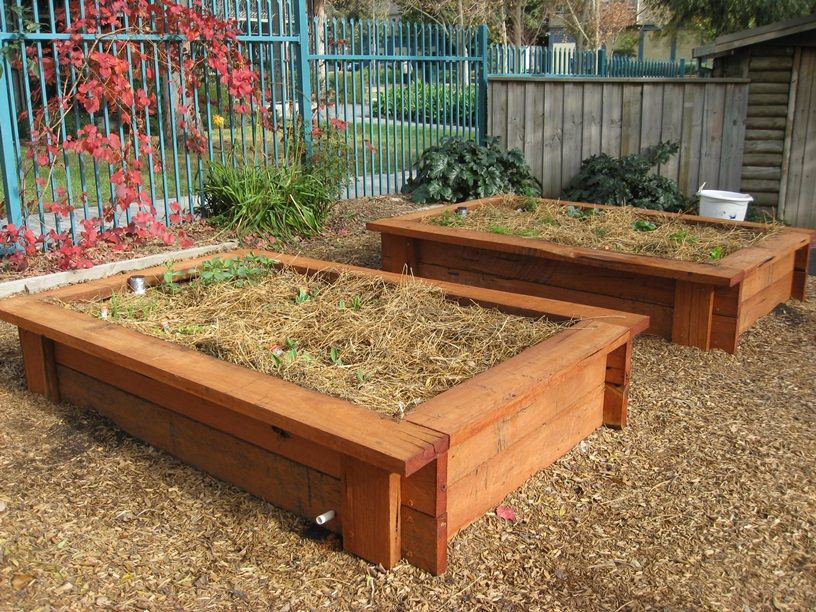 bench designs nice designs children play raised beds garden projects 3