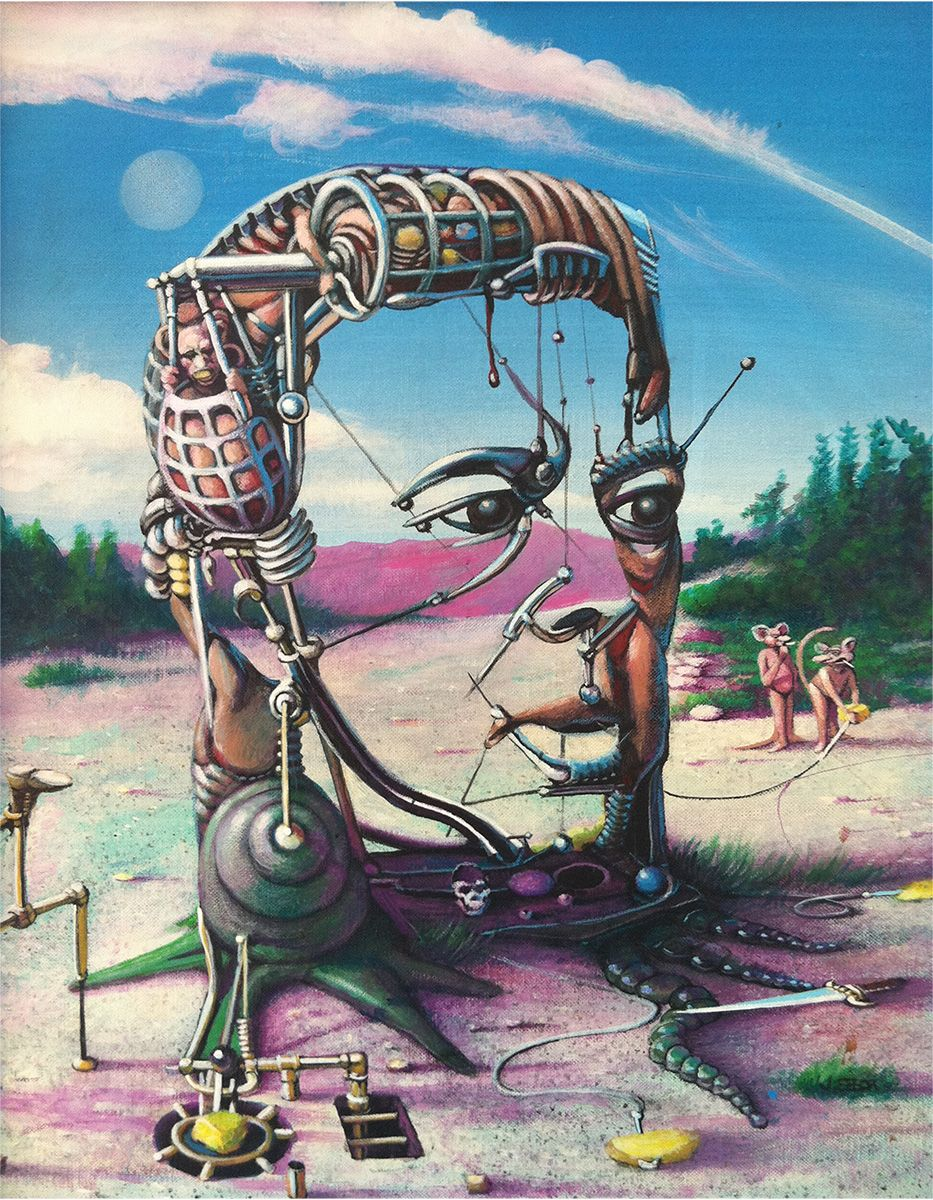 Pin By Jehoiakim On Andre Breton Surrealism Painting Art