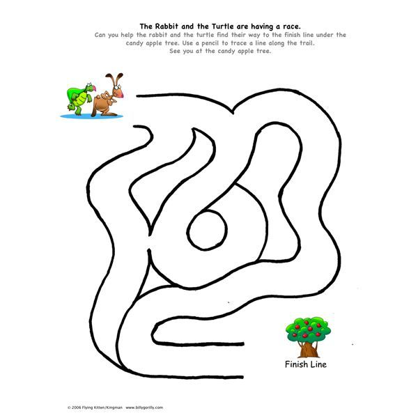 Free Printable Mazes for Kids | All Kids Network
