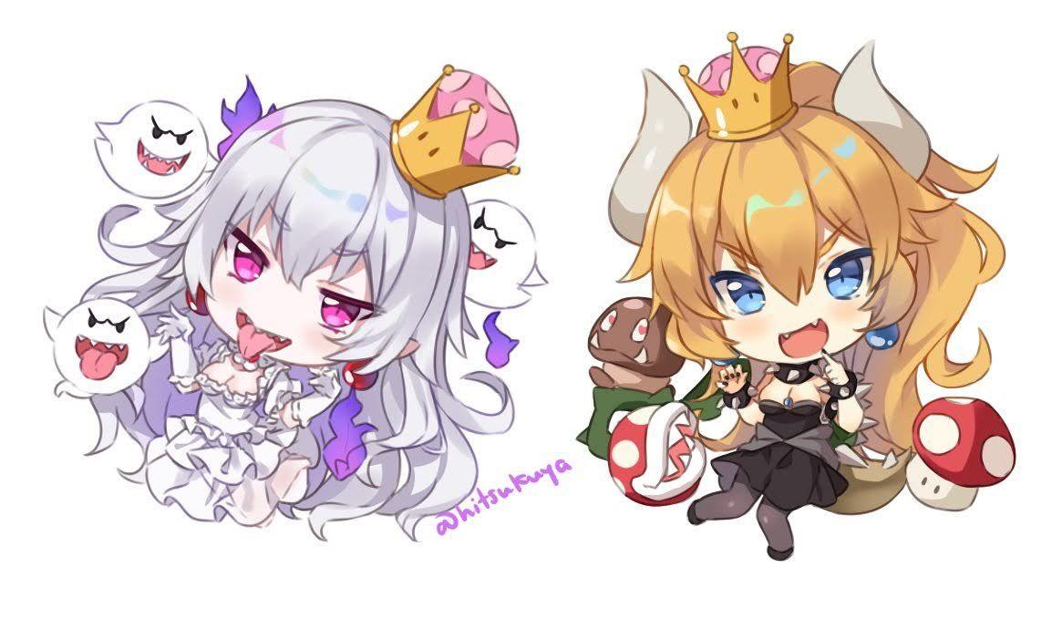 Booette Video Games Anime King Boo Super Mario Bros