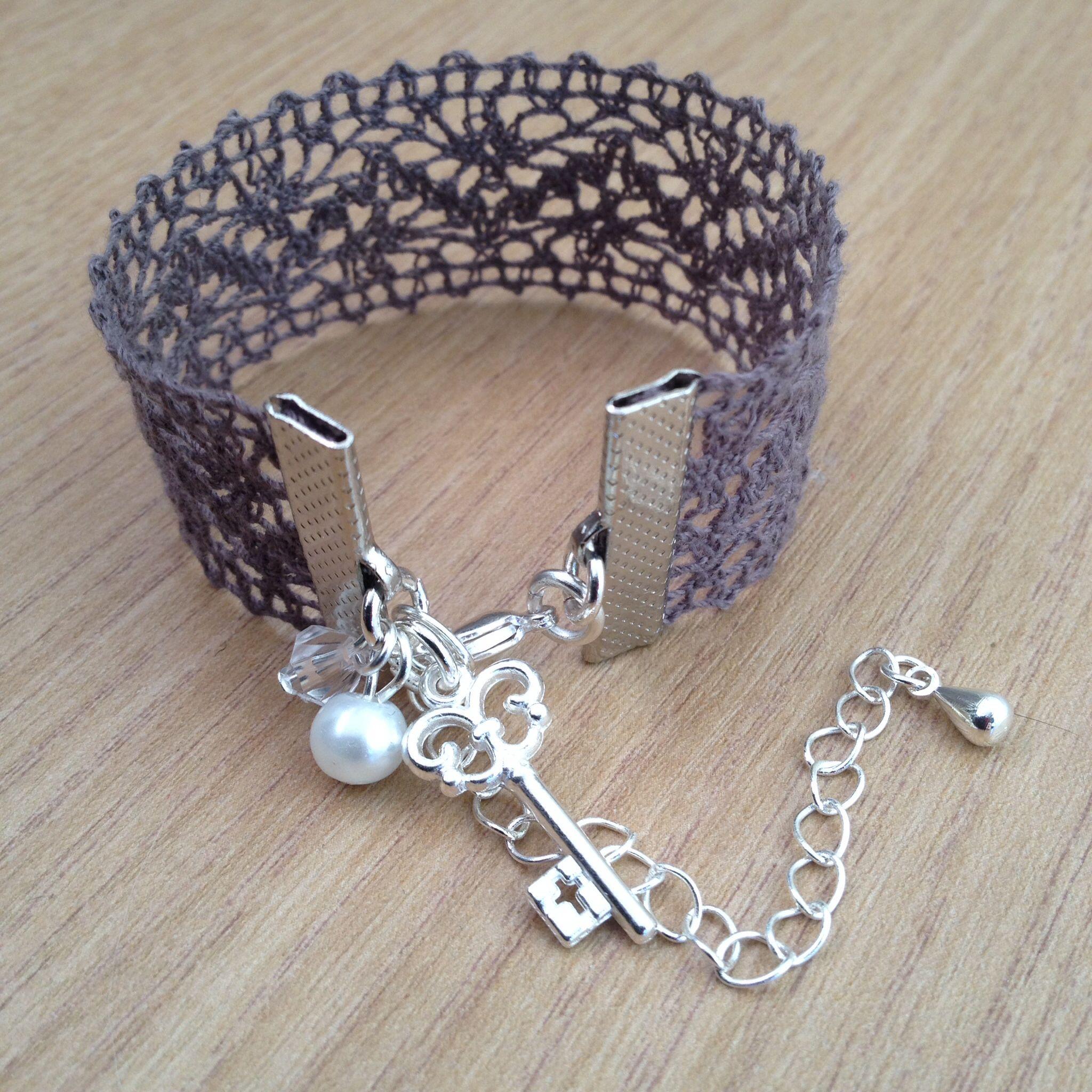 Diy Lace Bracelet Diy Lace Earrings Lace Bracelet Lace Cuff Bracelet