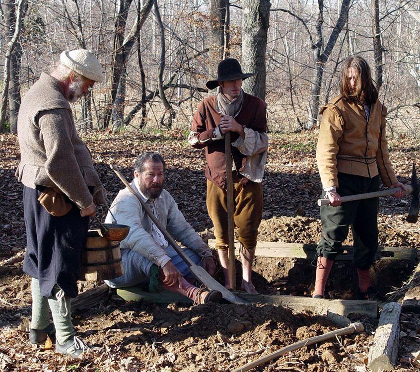 History Channel Mayflower Video Resume » Andrew J Poleszak - costume designer resume