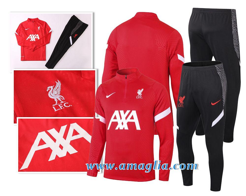 PARTAS Maglia Manica Lunga Liverpool Football Tuta da Allenamento for Adulti Sportivo Tuta Calcio Regalo Ufficiale Jacket /& Pants
