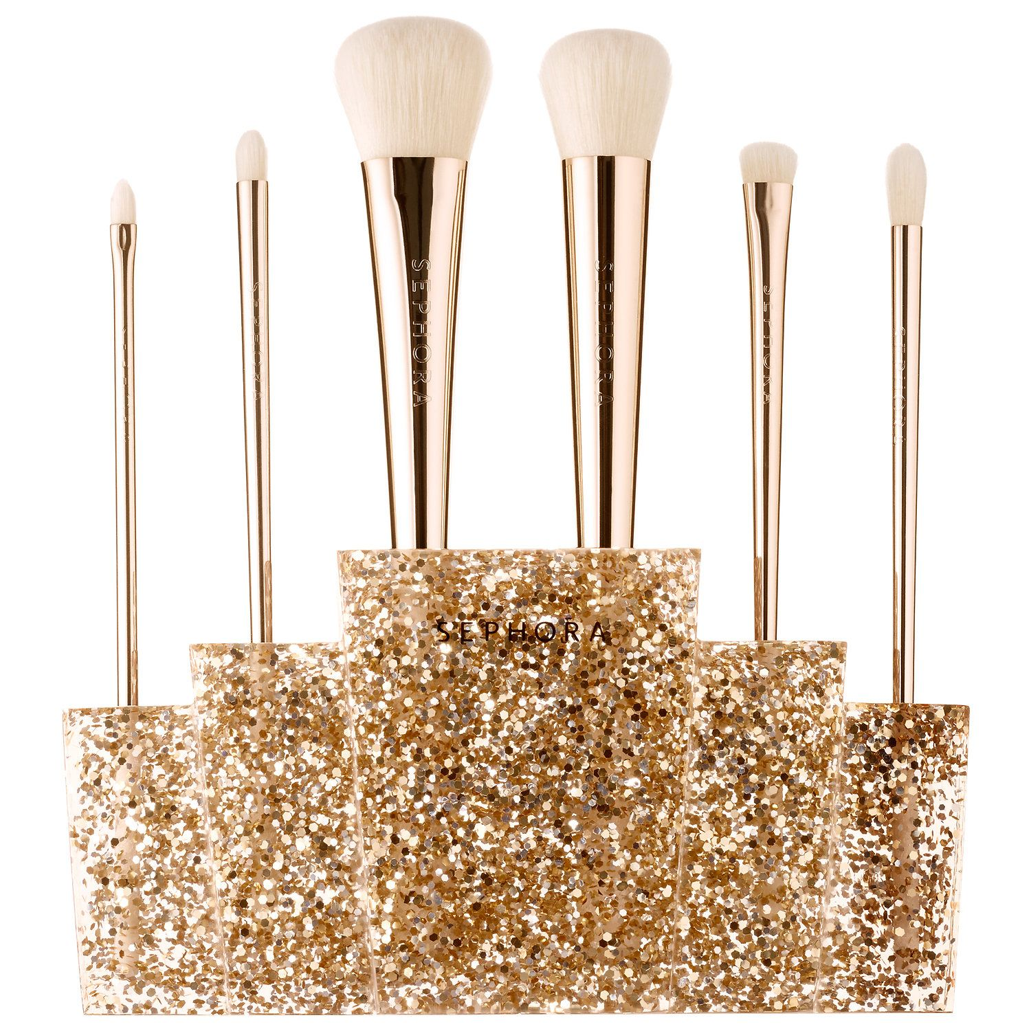 Shop SEPHORA COLLECTION's Glitter Happy Brush Set at