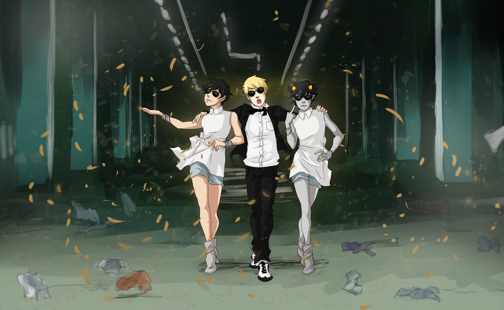 The Strider Gangnam style wallpaper you were looking for