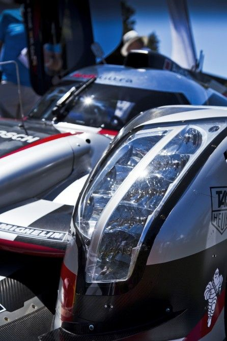 The 2012 Audi R18 E-Tron Ultra is specifically designed for extended endurance races like 24 Hours of Le Mans and 12 Hours at Sebring