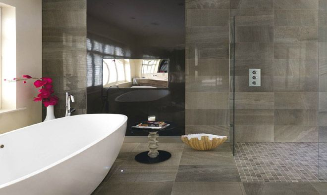 1000 images about carrelage sdbain on pinterest - Salle De Bain Contemporaine Carrelage