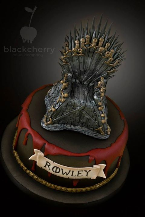 Game of Thrones cake CAKE Pinterest Cake Gaming and Birthday