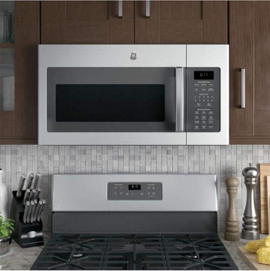 Ge 1 7 Cu Ft Over The Range Microwave Stainless Steel Jvm6175skss Best Buy Over The Range Microwaves Range Microwave Stainless Steel Oven