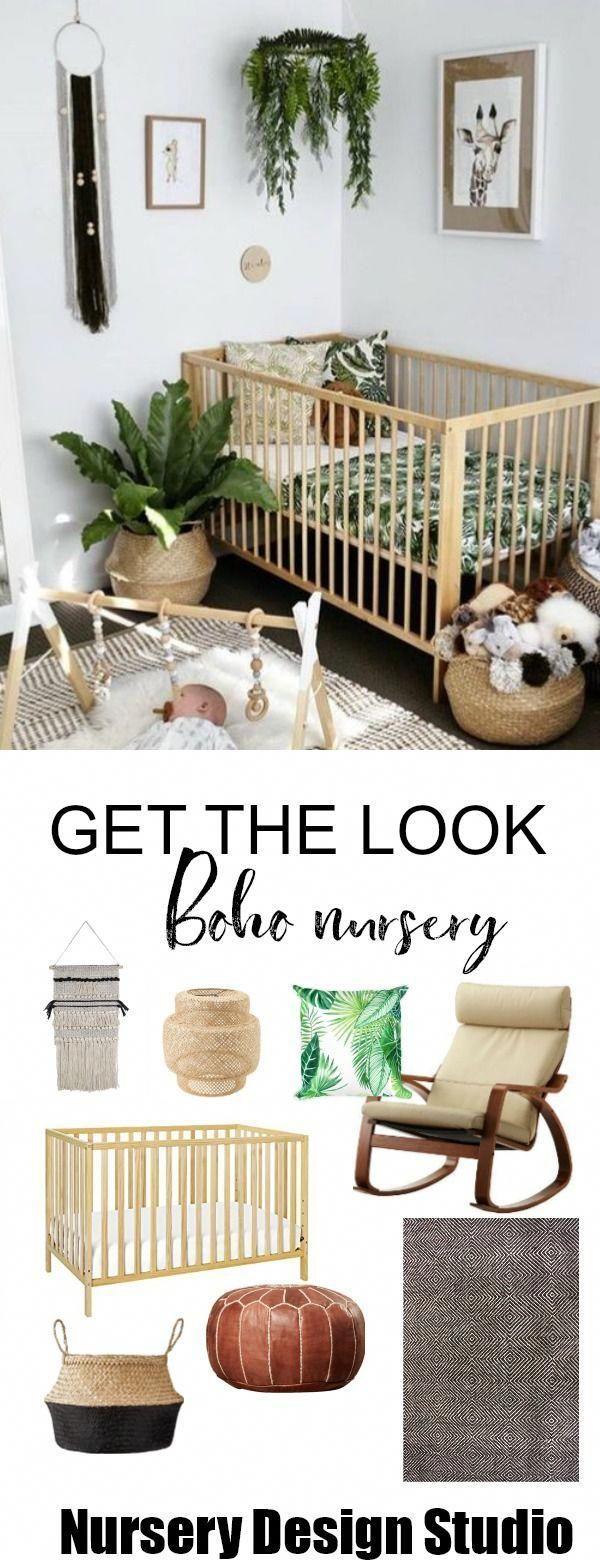 Notitle In 2020 Natural Baby Nursery Boho Nursery Nursery Baby Room