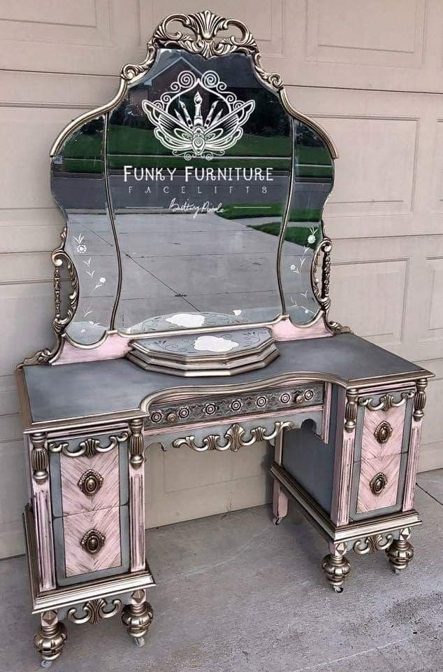 Gothic, enchanted vanity