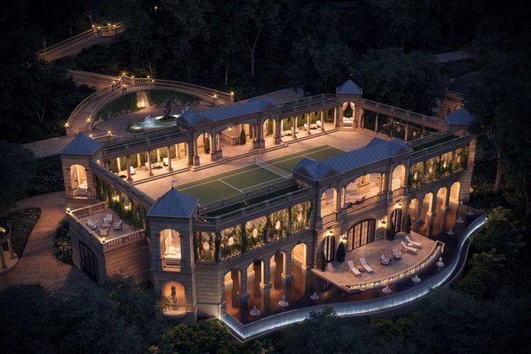 Amazing Gigantic Mega Mansion Design Proposal Le Domaine Des Chênes Mansion Designs Mansions Mega Mansions