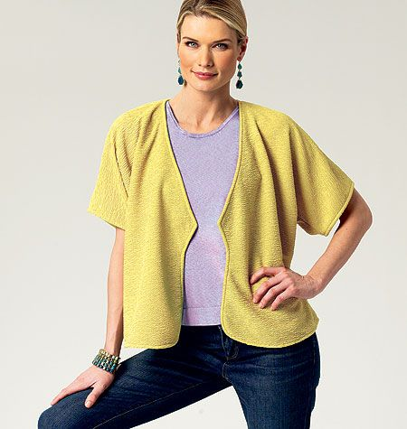 Butterick 5793. View A is tempting but uses a lot of fabric. My personal jury is still out on view B.