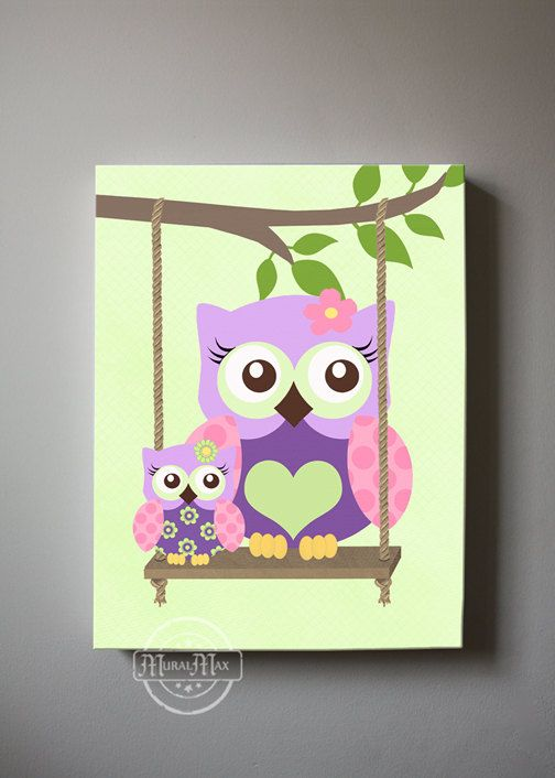 Marvelous Hey, I Found This Really Awesome Etsy Listing At  Https://www.etsy.com/listing/198496330/owl Wall Art Nursery Canvas Canvas  Art
