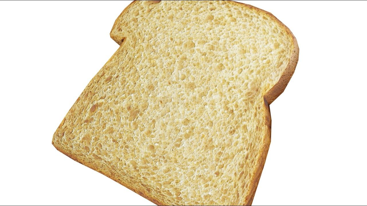 Whole Wheat Bread Slice Model Preview Whole Wheat Bread Wheat Bread Wheat