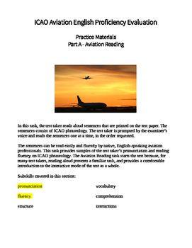 ICAO Aviation English test prep part A | Aviation English