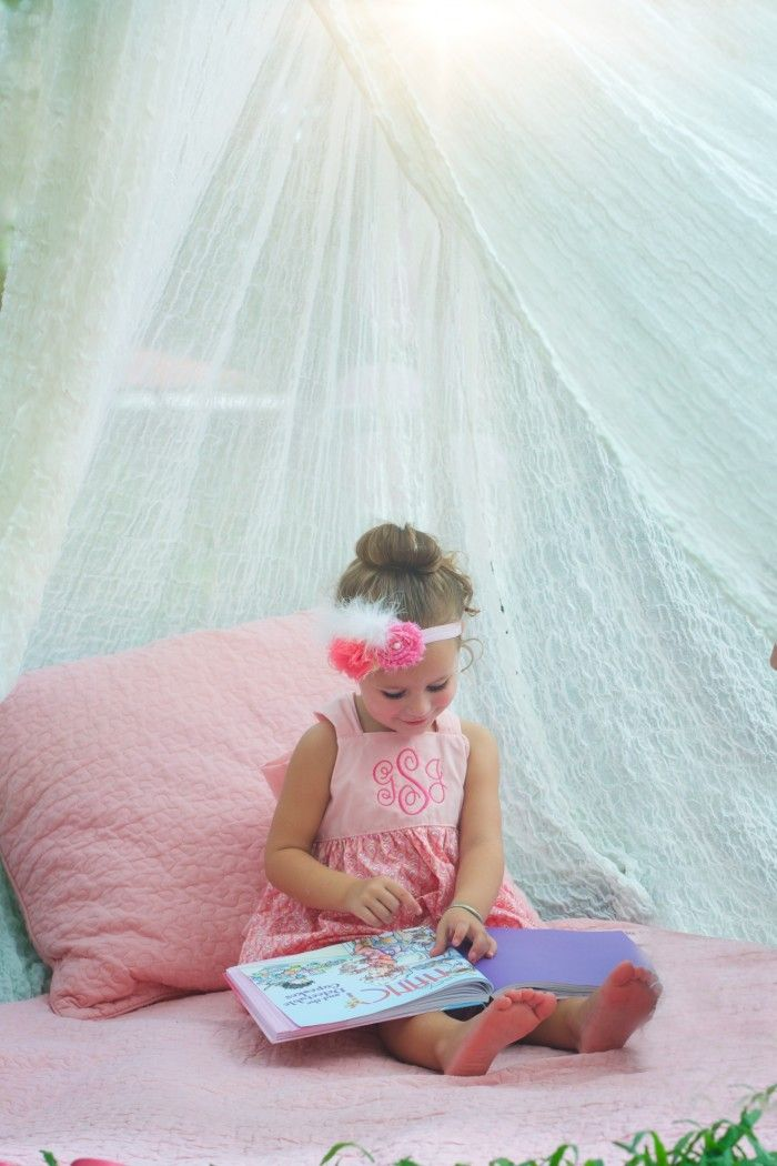 Pink Garden Party  Story Time Tent
