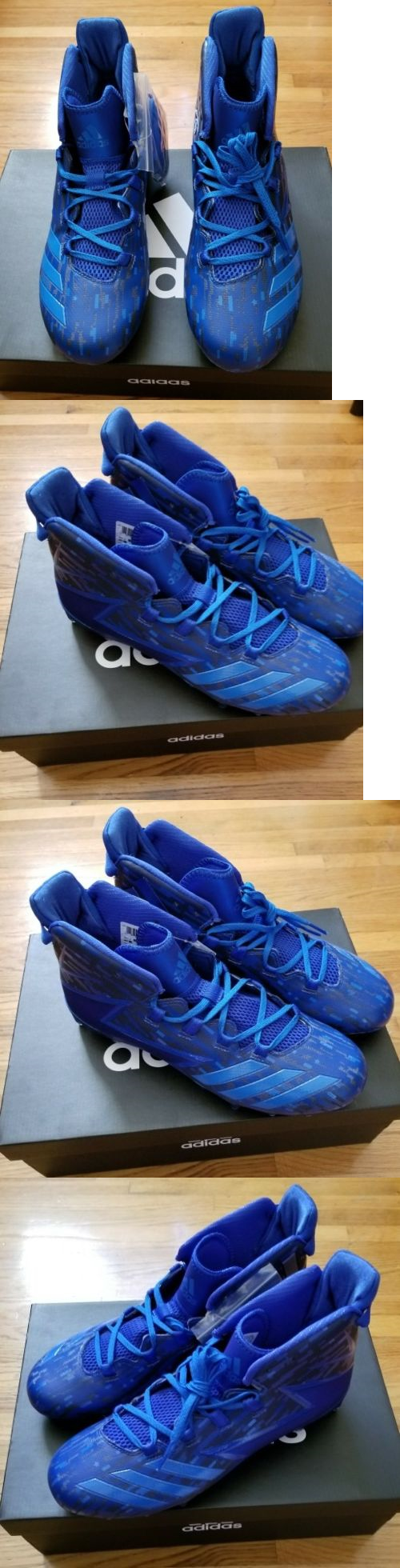 63660f4c7 Men 159116  New Adidas Freak X Kevlar Football Cleats Bw0390 Blue Poblue Men  S Size