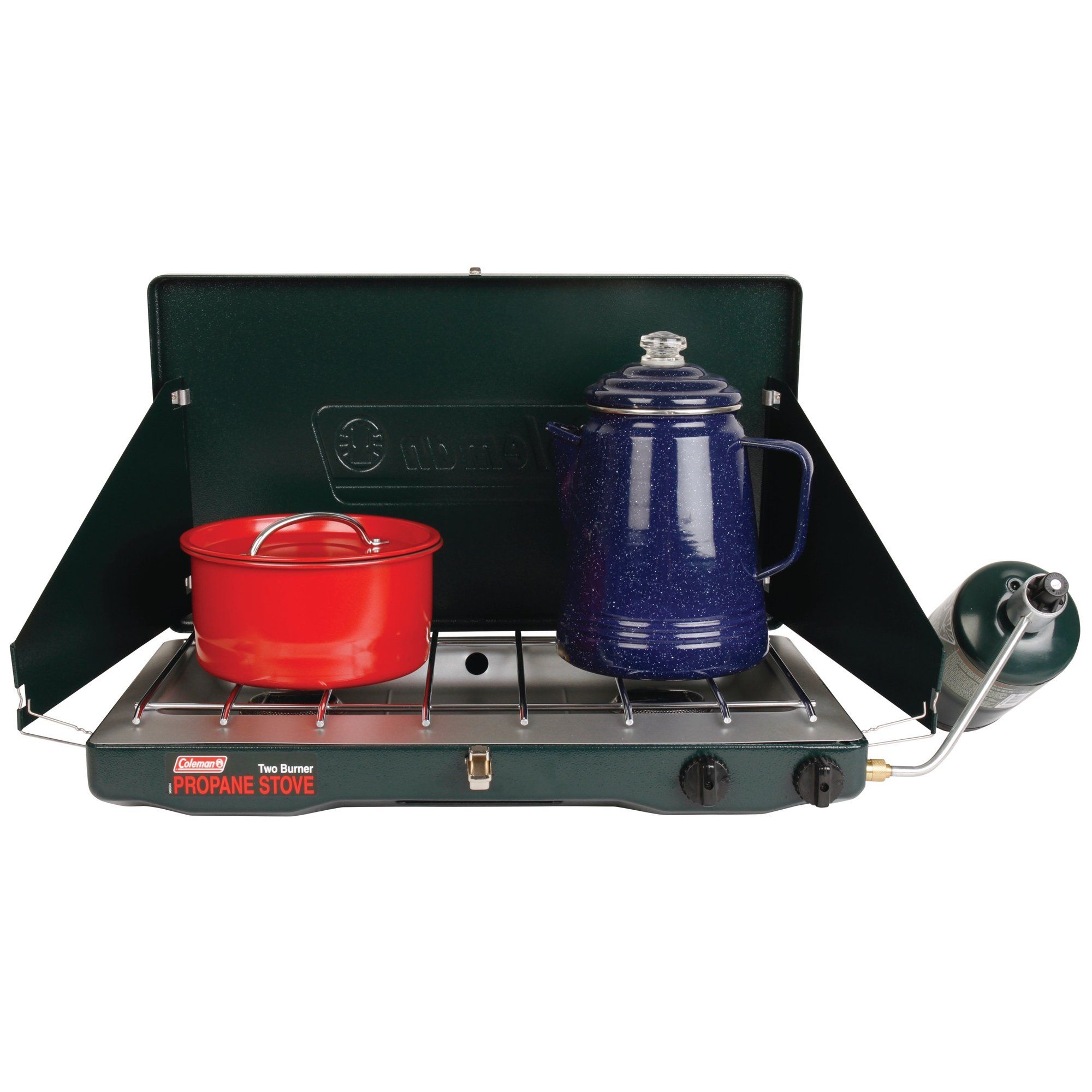 Coleman Portable Propane Gas Classic Stove with 2 Burners