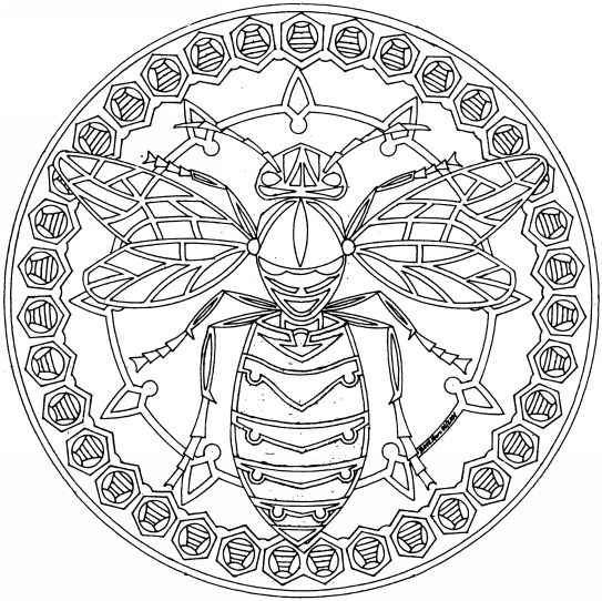 fancy mandala coloring pages - photo#3