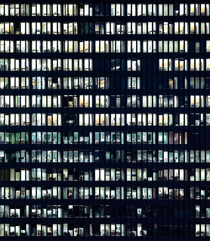 City Window Texture