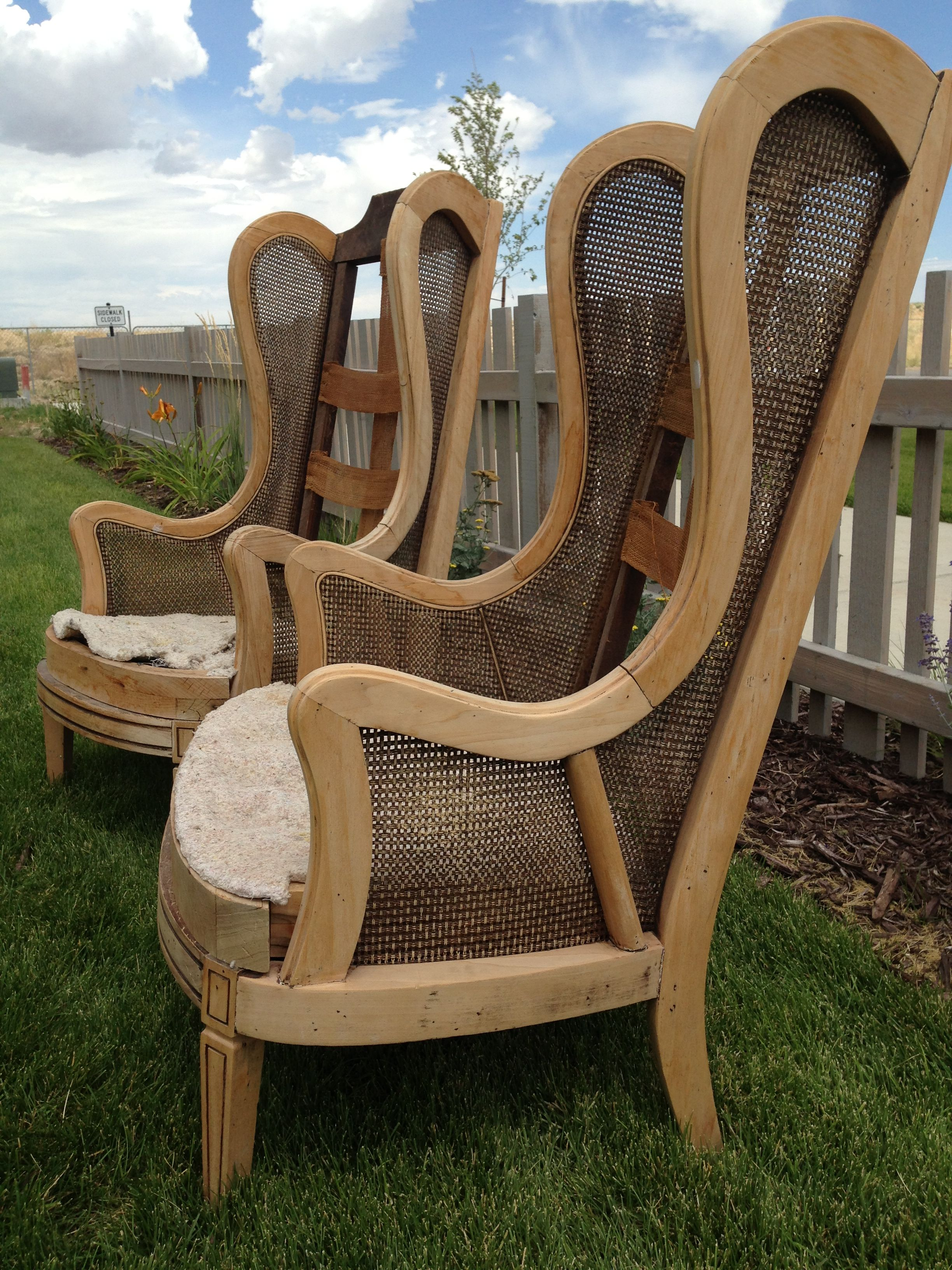 Cane wing backs cheap dining chairs diy furniture