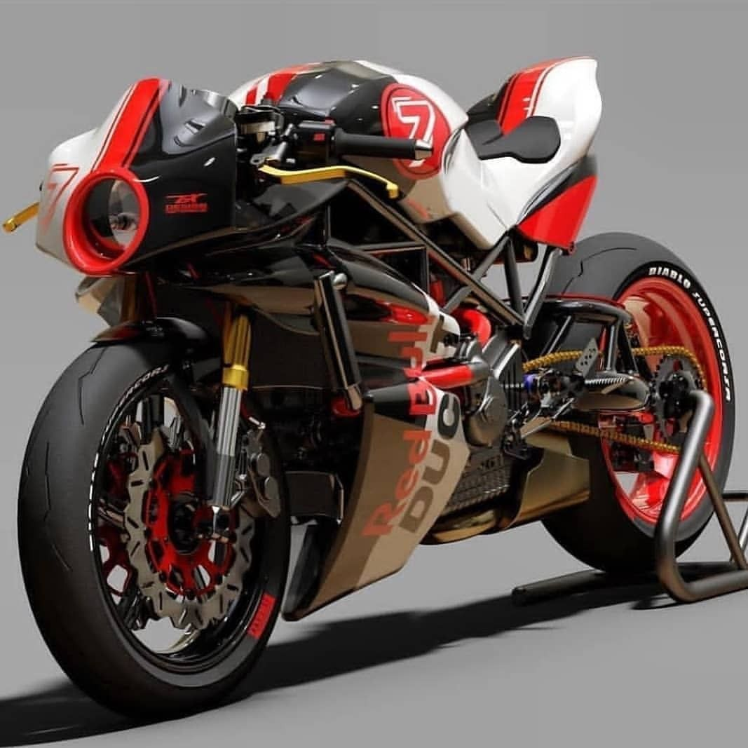 Custom Monster Body Kit By Paolo Tex Ducatiobsession Ducatimonster Cu Sports Bikes Motorcycles Cafe Racer Bikes Ducati Cafe Racer