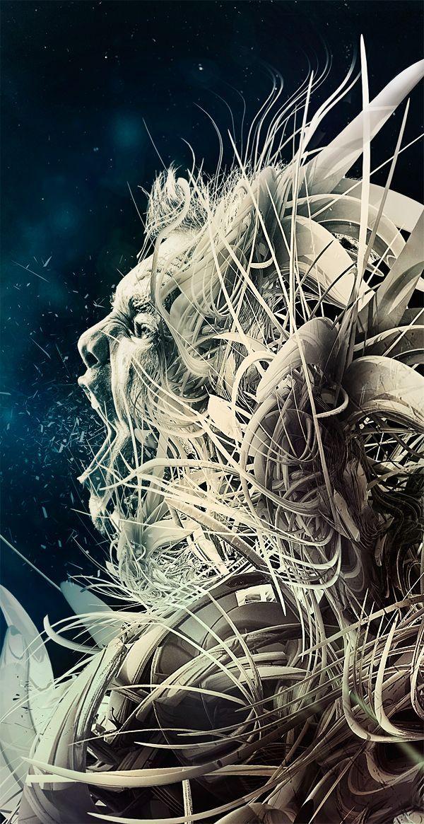 The Sleeper by Adam Spizak* via Behance Art inspiration
