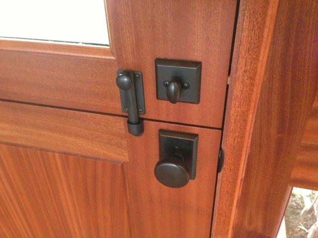 "Emtek Accessories 4/"" Dutch Door Bolt"