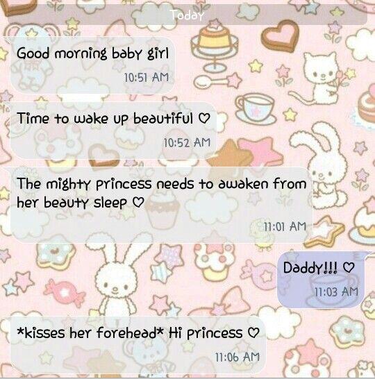 ❤Kawaii Love❤ ~daddy and princess text