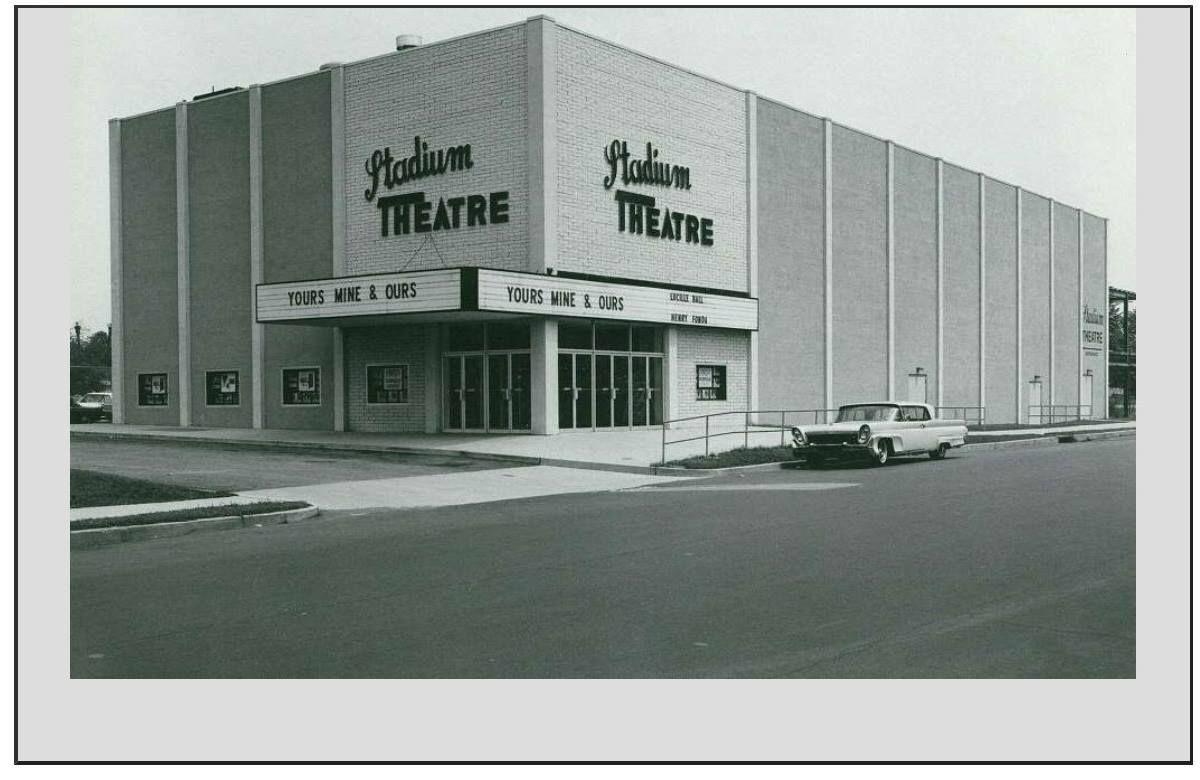 Stadium Theater Circa 1968 3300 S Broad St Philadelphia Pa Seating Capacity 750 South Philly Stadium Philly