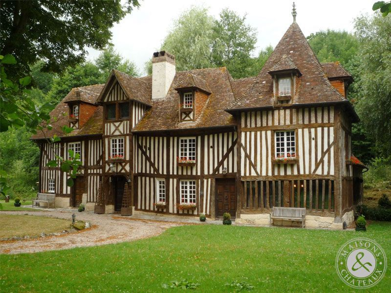 18thC manor nr Calvados French Medieval and Renaissance Chateaux