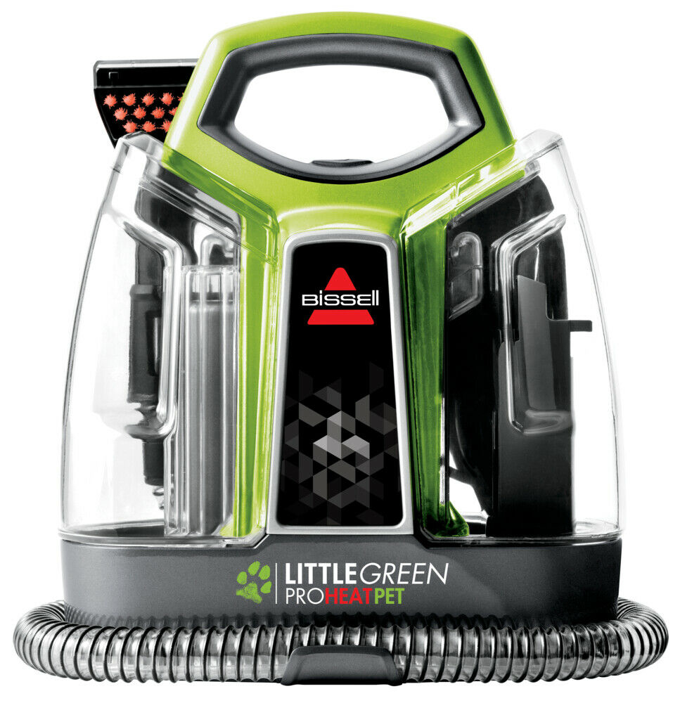 Bissell Little Green Proheat Pet Deluxe Carpet Cleaner 9749f Refurbished Carpet Cleaning Hacks How To Clean Carpet Carpet Cleaners