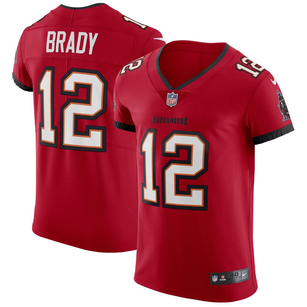 Tom Brady Tampa Bay Buccaneers Nike Vapor Elite Jersey Red In 2020 Tampa Bay Buccaneers Tom Brady Jersey Nike Vapor