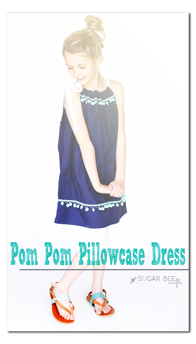 Pom Pom Pillowcase Dress | Patrón para coser, Costura y Nena