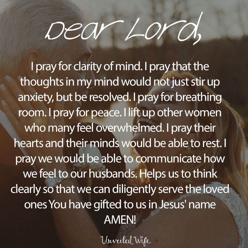Prayer: Clarity Of Mind | FAITH | Clarity quotes, Prayers