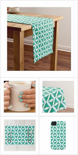 Green Rhombus Pattern Collection - The fashion of classic and minimalistic patterns never goes away. In our new design, we have combined with the green color rhombus for geometry and pattern lovers. #zazzle #geometry #diamond #retro #abstract #artprint #gift #giftideas #design #wedding #unique #homedecor #clothing #accessories #decoration