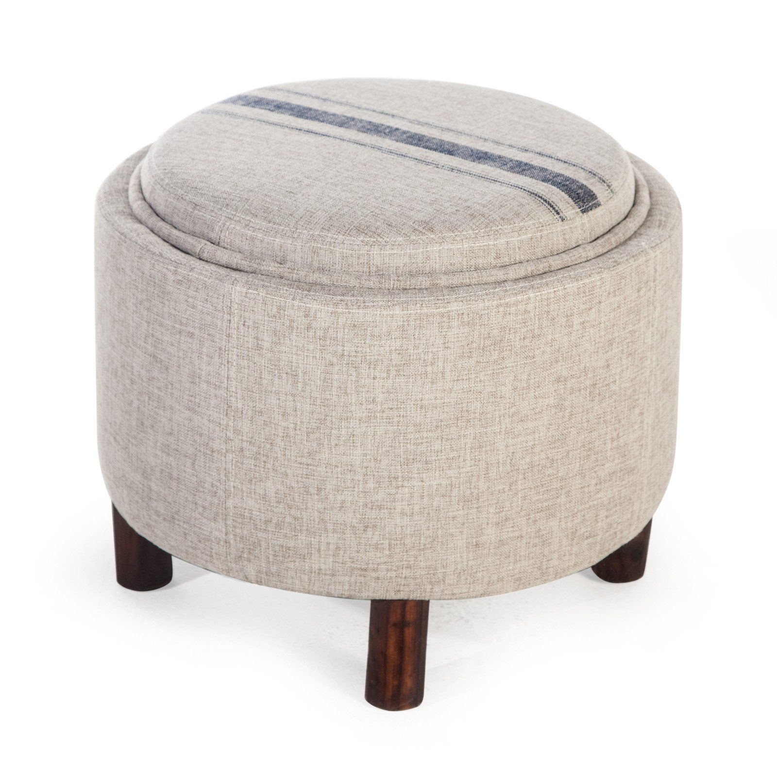 Magnificent Belham Living Ingram Round Storage Ottoman With Cocktail Pdpeps Interior Chair Design Pdpepsorg
