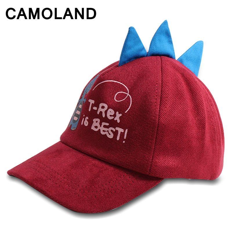 Boy Girl Baby T-Rex Dinosaur Baseball Cap Adjustable Snapback Summer Outdoor Hat