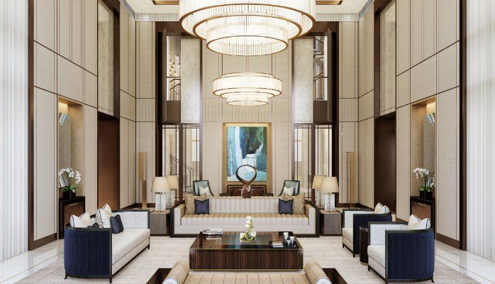 Working On A Hotel Lobby Furniture Interior Design Project Find Out The Best Furniture Inspirations For It Residential Design Hotel Lobby Design Lobby Design