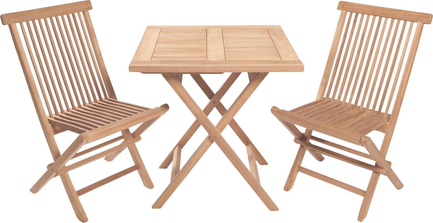 Riva Sitzgruppe Teak, Tisch und Stühle, Echtholz | Teak Gartenmöbel ...