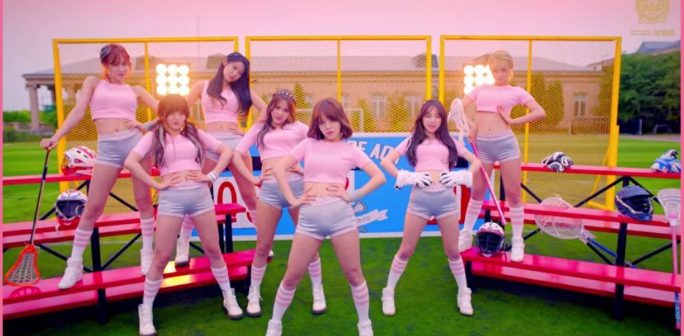 "AOA Releases ""Sparkling Version"" Video for ""Heart Attack"" MV 