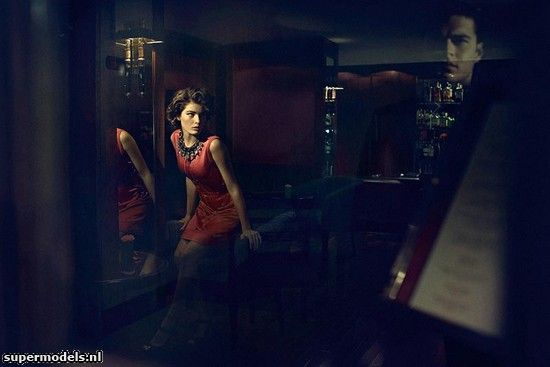 Isabeli Fontana in 'Last Words' - Photographed by Gustavo Zylbersztajn (Schön #19 2012)    Complete shoot after the click...