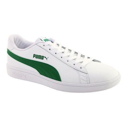 33492dfd1f Men's PUMA Smash V2 L Sneaker - Puma White/Amazon Green Sneakers in ...