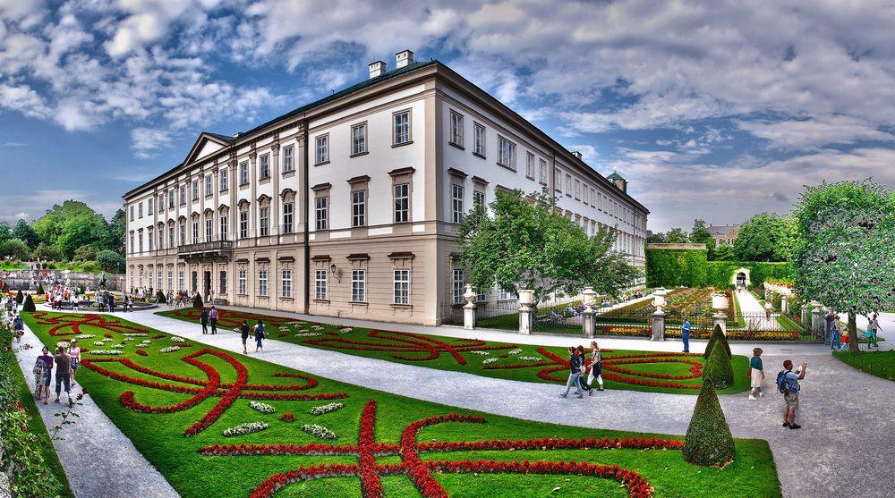 Schloss Mirabell Salzburg Austria